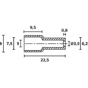 HellermannTyton OP4827 PE NA 2000 Protective cap Terminal Ø (max.) 7.5 mm Polyethylene (PE) Transparent 1 pc(s)