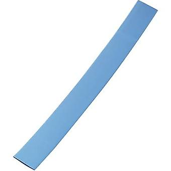 כיווץ החום w/o דבק כחול 18 מ