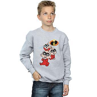 Disney Boys The Incredibles Jak Jak Sweatshirt