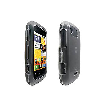 OEM Verizon Motorola Citrus WX445 Snap-On Case (Clear) (Bulk Packaging)