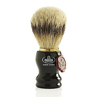 Omega 618 1st Grade Super Badger Hair Shaving Brush