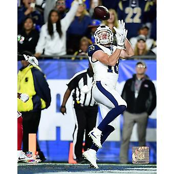 Cooper Kupp 2017 Playoff Action Photo Print
