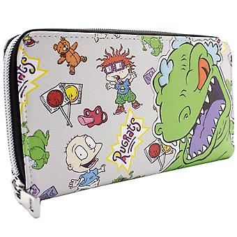 Rugrats Reptar Chuckie & Tommy Coin & Card Clutch Purse