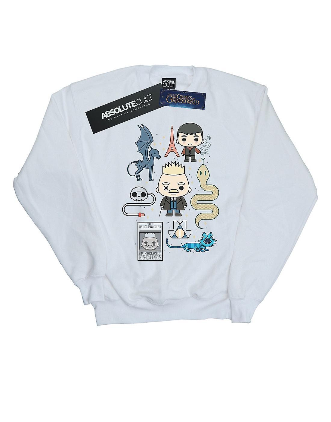 Fantastic Beasts Girls Chibi Grindelwald Sweatshirt