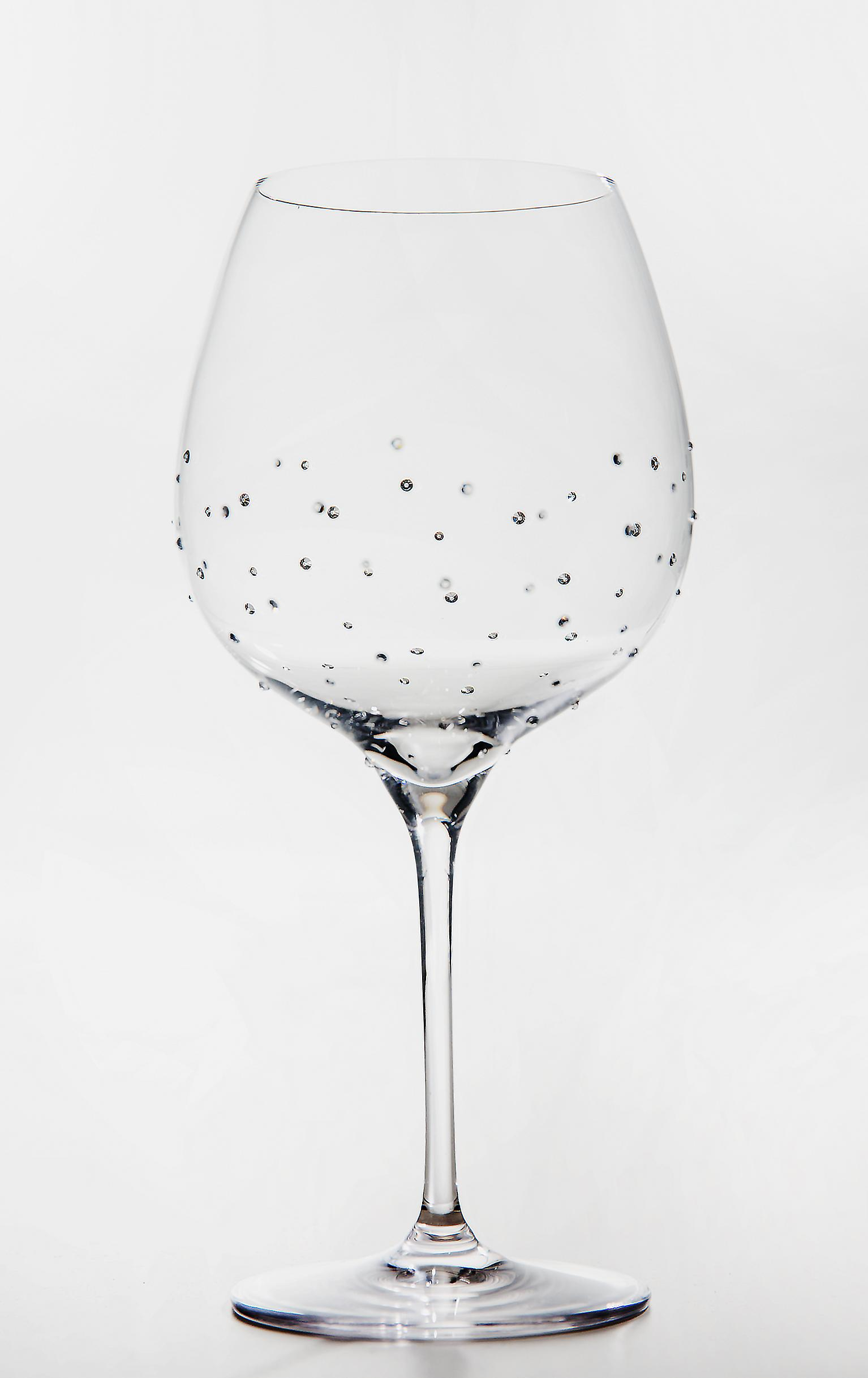 Burgundy Glass x 2