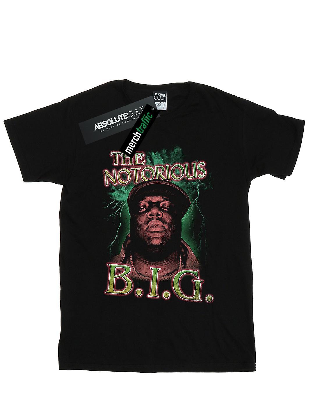 Notorious BIG Girls Green Lightning T-Shirt
