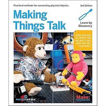 Making Things Talk - 3e by Tom Igoe - 9781680452150 Book