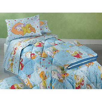 Disney sieben Zwerge Bettdecke Caleffi und halb blau