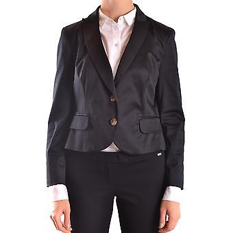 Rode Valentino Ezbc026009 Dames's Black Cotton Blazer