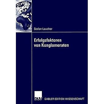 Erfolgsfaktoren von Konglomeraten av Schneider & Prof. Dr. Johannes