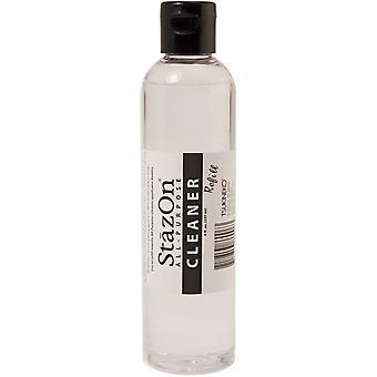 StazOn универсальные чистых 8oz бутылку Clear