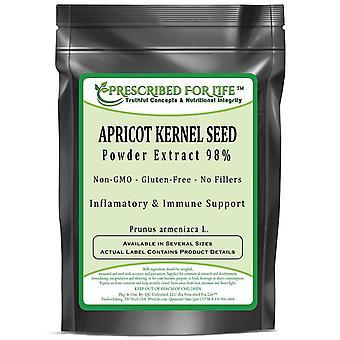 Semilla de albaricoque-extracto en polvo 98% (PRUNUS ARMENIACA L.)