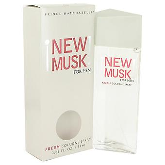 New musk cologne spray by prince matchabelli   482542 83 ml