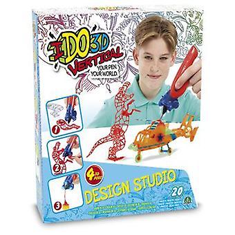 Giochi Preziosi Ido vertikal-3D 3D Design Studio 4 pennor