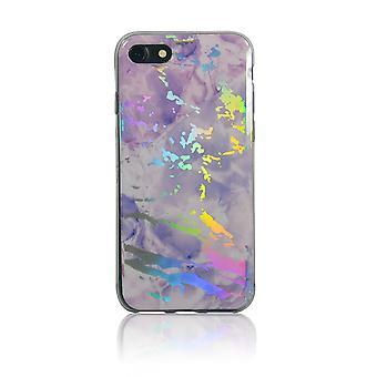 Boîtier laser marble pour iPhone 7/8