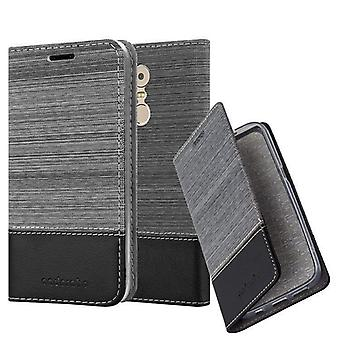 Cadorabo Case for Lenovo K6 NOTE Case Cover - Phone Case with Magnetic Closure, Stand Function and Card Case Compartment - Case Cover Case Case Case Case Case Book Folding Style