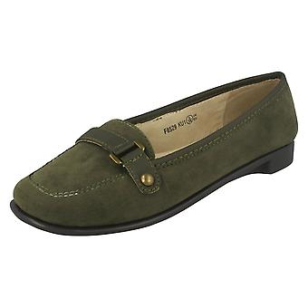 Womens Spot il mocassino Slip On scarpa F8529