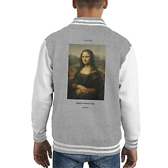 A.P.O.H Mona Lisa Made In Florence Kid's Varsity Jacke