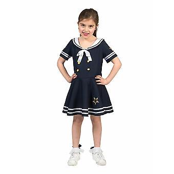 Sailorgirl Sailor lasten puku Sailor Carnival Shipmaid puku lapset