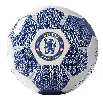 Chelsea FC Official Supporter Football Soccer Ball White/Blue - Size 5