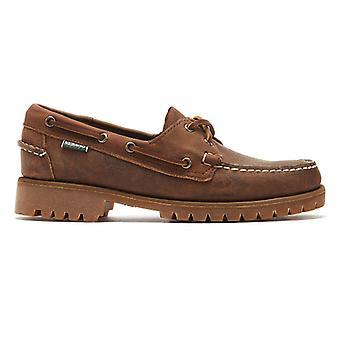 Sebago Ranger Tumbled Mens Brown Shoes
