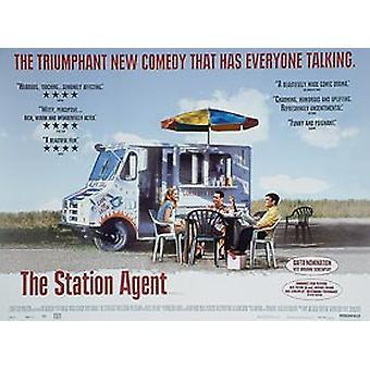 Aseman agentti (kaksipuolinen) alkuperäinen elokuva juliste