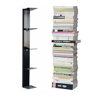 RADIUS Booksbaum wand plank zwart 2 klein