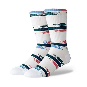 Stance Jackee Crew Socks in Natural