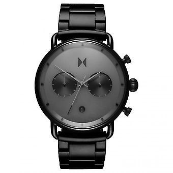 MVMT D-BT01-BB Watch - Chronograph and Dateur Cadran Anthacite Black Steel Bracelet Men