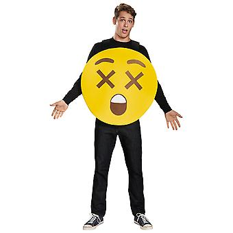 X-Ray Eyes Emoji Sandwich Board Emoticons Unisex Homme Costume One Taille