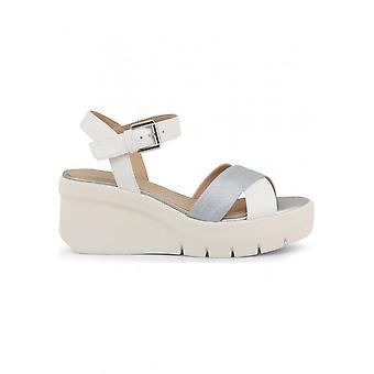 Geox - Schuhe - Keilpumps - TORRENCE_D92CPB_0BCBN_C0007-WHITE - Damen - white,silver - 39