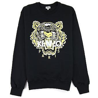 Felpa Kenzo Tiger Nero/giallo