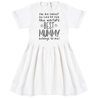 I'm As Lucky As Can Be Best Mummy belongs to me! Baby Dress