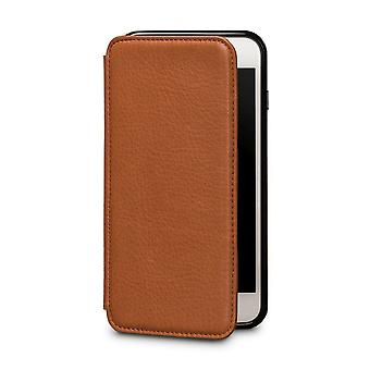Case For iPhone 8 Plus / IPhone 7 Plus In True Leather Brown Card Holder