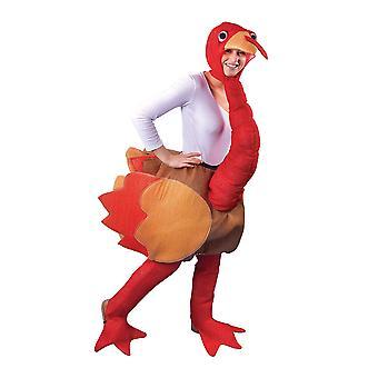 Bristol Neuheit Unisex Erwachsene Schritt In der Türkei Kostüm