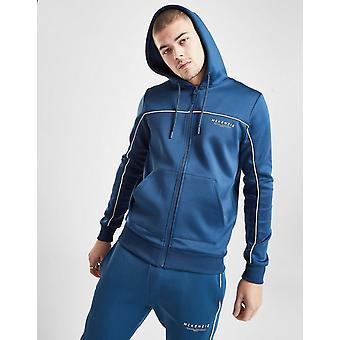 Nieuwe McKenzie mannen ' s essentiële poly zip hoodie blauw