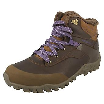 Ladies Merrell Casual Ankle Boots Fluorecein Thermo 6
