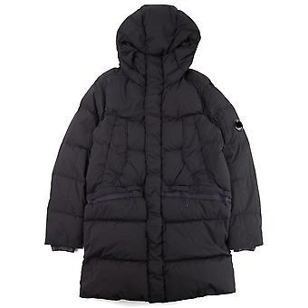 CP Company C.P. Company Nycra Full Length Puffer Jacket Black 999