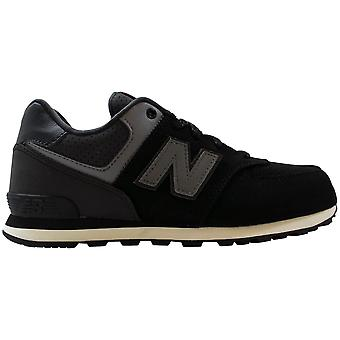 New Balance Featured 574 Black/Grey KL574YAP Men's