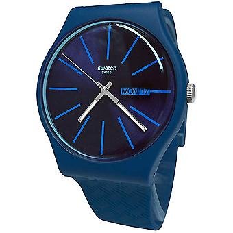 Swatch WAVE PATH Mens Watch SUON713