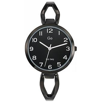 Shows Go Girl Only 695150 - strap and black dial with steel case woman