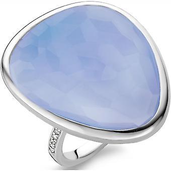 Ti Sento 12001LA - ring blå sølv kvinde