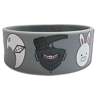 Wristband - Tokyo Ghoul - New Mask Anime Licensed ge54236