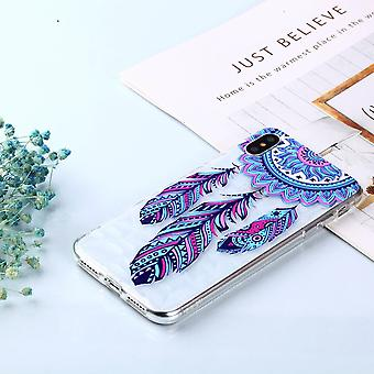 Für iPhone XS MAX Abdeckung, Schockproof Schlanke dünne weiche Handytasche, Dreamcatcher