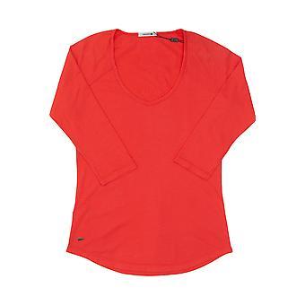 Damen Lacoste Lachs T-shirt