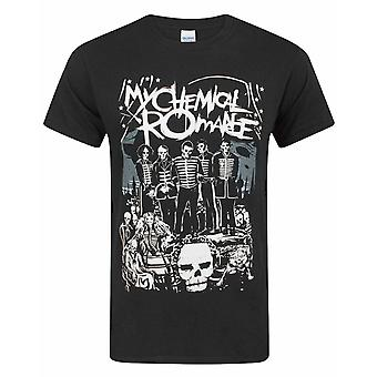 My Chemical Romance The Black Parade Poster Men's Black T-Shirt Top