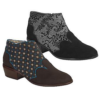Ruby Shoo Women's Juliette Low Heel Ankle Boots