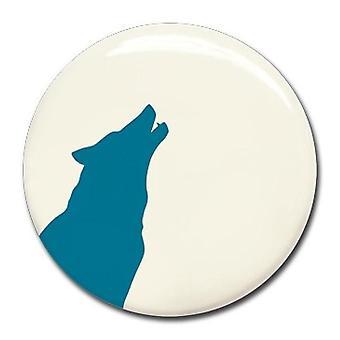 Magneet blauwe wolf-Wonderwall