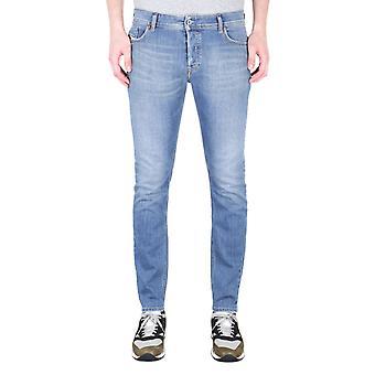 Diesel Sleenker Pantaloni Skinny Fit Light Blue Dżinsy dżinsowe