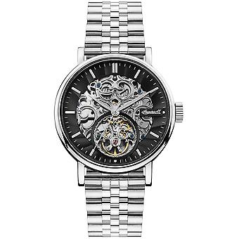 Charles Automatic Analog Man Watch with I05804 Stainless Steel Bracelet